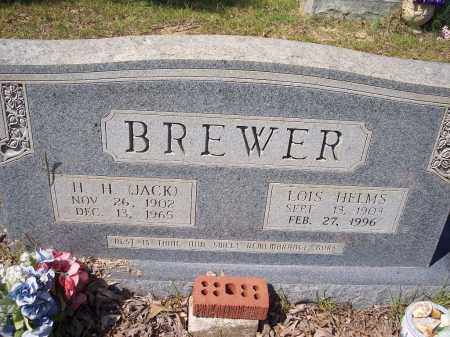 BREWER, LOIS - Clark County, Arkansas | LOIS BREWER - Arkansas Gravestone Photos