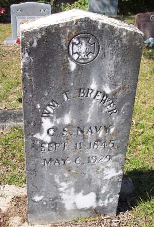 BREWER (VETERAN CSA), WILLIAM THOMAS - Clark County, Arkansas | WILLIAM THOMAS BREWER (VETERAN CSA) - Arkansas Gravestone Photos