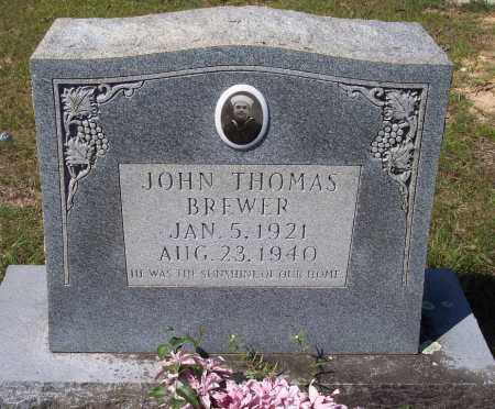 BREWER (VETERAN), JOHN THOMAS - Clark County, Arkansas | JOHN THOMAS BREWER (VETERAN) - Arkansas Gravestone Photos