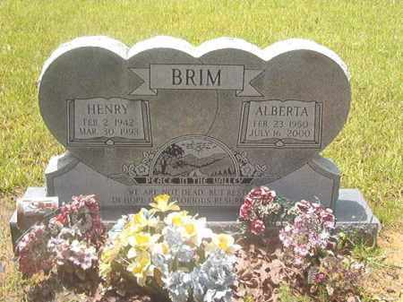 BRIM, HENRY - Clark County, Arkansas | HENRY BRIM - Arkansas Gravestone Photos