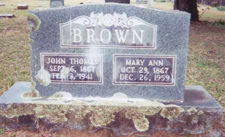 BROWN, JOHN THOMAS - Clark County, Arkansas | JOHN THOMAS BROWN - Arkansas Gravestone Photos