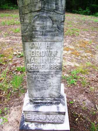 BROWN, W. H. - Clark County, Arkansas | W. H. BROWN - Arkansas Gravestone Photos