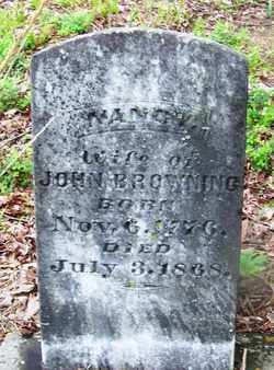 BROWNING, NANCY - Clark County, Arkansas | NANCY BROWNING - Arkansas Gravestone Photos