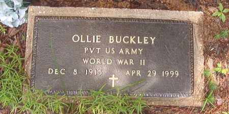 BUCKLEY (VETERAN WWII), OLLIE - Clark County, Arkansas | OLLIE BUCKLEY (VETERAN WWII) - Arkansas Gravestone Photos