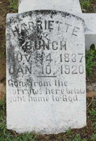 BUNCH, HARRIETTE - Clark County, Arkansas | HARRIETTE BUNCH - Arkansas Gravestone Photos