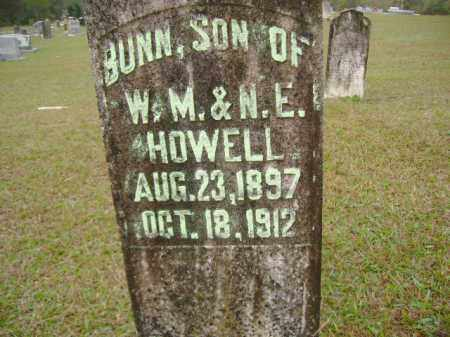 HOWELL, BUNN - Clark County, Arkansas | BUNN HOWELL - Arkansas Gravestone Photos