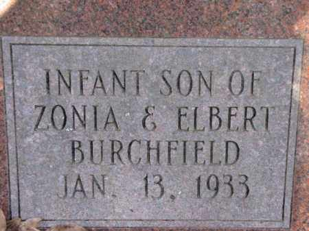BURCHFIELD, INFANT SON - Clark County, Arkansas | INFANT SON BURCHFIELD - Arkansas Gravestone Photos