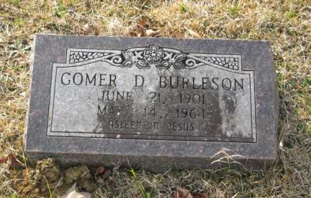 BURLESON, GOMER D. - Clark County, Arkansas | GOMER D. BURLESON - Arkansas Gravestone Photos
