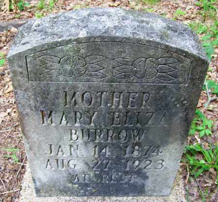 BURROW, MARY ELIZA - Clark County, Arkansas | MARY ELIZA BURROW - Arkansas Gravestone Photos