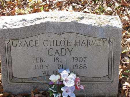 HARVEY CADY, GRACE CHLOE - Clark County, Arkansas | GRACE CHLOE HARVEY CADY - Arkansas Gravestone Photos
