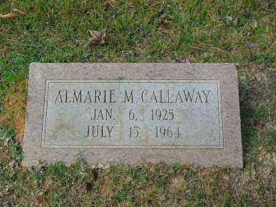 CALLAWAY, ALMARIE M. - Clark County, Arkansas | ALMARIE M. CALLAWAY - Arkansas Gravestone Photos