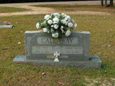 PAGAN CALLAWAY, JIMMIE - Clark County, Arkansas | JIMMIE PAGAN CALLAWAY - Arkansas Gravestone Photos