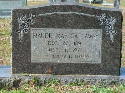 CALLAWAY, MAUDE MAE - Clark County, Arkansas | MAUDE MAE CALLAWAY - Arkansas Gravestone Photos
