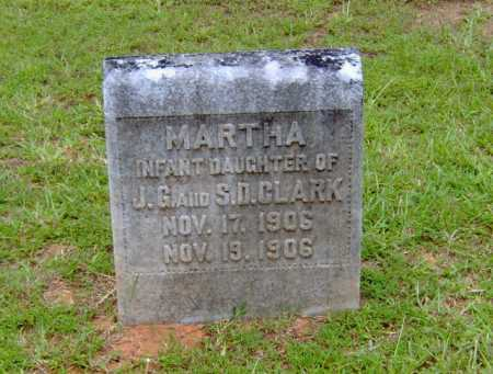 CLARK, MARTHA - Clark County, Arkansas | MARTHA CLARK - Arkansas Gravestone Photos