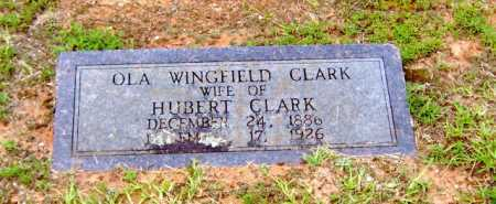 CLARK, OLA - Clark County, Arkansas | OLA CLARK - Arkansas Gravestone Photos