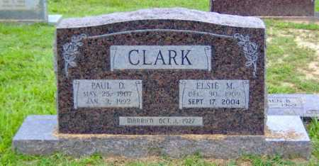 CLARK, PAUL D. - Clark County, Arkansas | PAUL D. CLARK - Arkansas Gravestone Photos