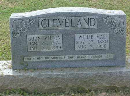 CLEVELAND, WILLIE MAE - Clark County, Arkansas | WILLIE MAE CLEVELAND - Arkansas Gravestone Photos