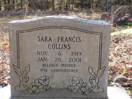 COLLINS, SARA FRANCIS - Clark County, Arkansas | SARA FRANCIS COLLINS - Arkansas Gravestone Photos