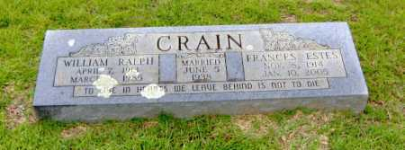 CRAIN, FRANCES - Clark County, Arkansas | FRANCES CRAIN - Arkansas Gravestone Photos