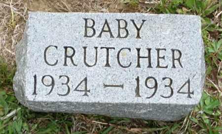 CRUTCHER, BABY - Clark County, Arkansas | BABY CRUTCHER - Arkansas Gravestone Photos