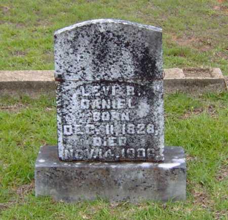 DANIEL, LEVI B. - Clark County, Arkansas | LEVI B. DANIEL - Arkansas Gravestone Photos