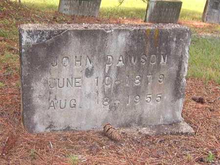 DAWSON, JOHN - Clark County, Arkansas | JOHN DAWSON - Arkansas Gravestone Photos