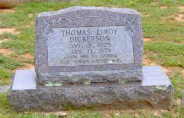DICKERSON, THOMAS LEROY - Clark County, Arkansas | THOMAS LEROY DICKERSON - Arkansas Gravestone Photos