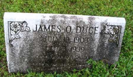 DUCE, JAMES O. - Clark County, Arkansas | JAMES O. DUCE - Arkansas Gravestone Photos