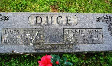 PAYNE DUCE, JENNIE - Clark County, Arkansas | JENNIE PAYNE DUCE - Arkansas Gravestone Photos