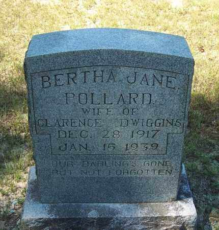 DWIGGINS, BERTHA JANE - Clark County, Arkansas | BERTHA JANE DWIGGINS - Arkansas Gravestone Photos