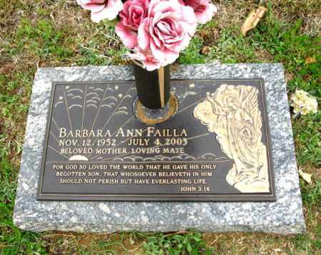 FAILLA, BARBARA ANN - Clark County, Arkansas | BARBARA ANN FAILLA - Arkansas Gravestone Photos