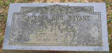 BRYANT FENDLEY, GEORGIA ANN - Clark County, Arkansas | GEORGIA ANN BRYANT FENDLEY - Arkansas Gravestone Photos