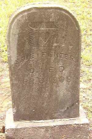 FENTER, EDIE - Clark County, Arkansas | EDIE FENTER - Arkansas Gravestone Photos
