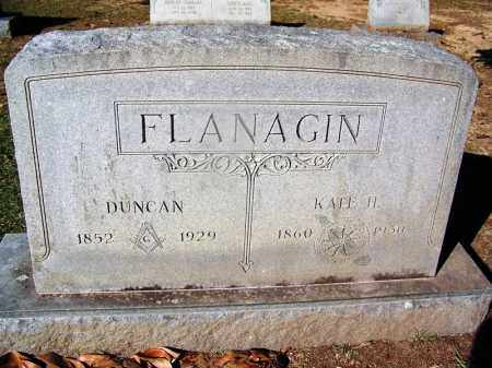 FLANAGIN, KATE H - Clark County, Arkansas | KATE H FLANAGIN - Arkansas Gravestone Photos