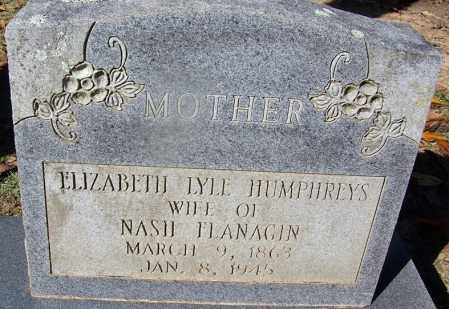 FLANAGIN, ELIZABETH LYLE - Clark County, Arkansas | ELIZABETH LYLE FLANAGIN - Arkansas Gravestone Photos