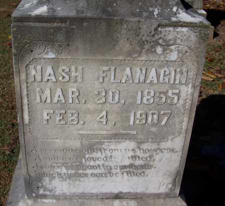 FLANAGIN, NASH - Clark County, Arkansas | NASH FLANAGIN - Arkansas Gravestone Photos