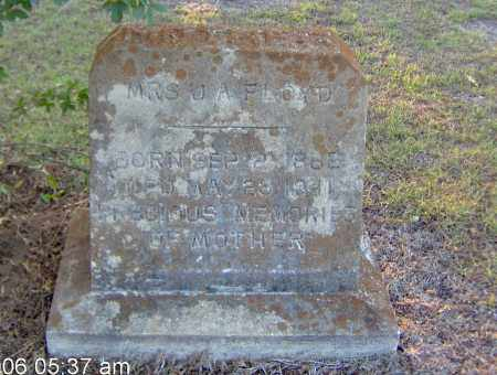FLOYD, MRS J A - Clark County, Arkansas | MRS J A FLOYD - Arkansas Gravestone Photos