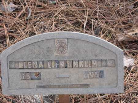 FRANKLIN, LENA L. - Clark County, Arkansas   LENA L. FRANKLIN - Arkansas Gravestone Photos