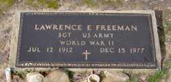 FREEMAN  (VETERAN WWII), LAWRENCE E - Clark County, Arkansas | LAWRENCE E FREEMAN  (VETERAN WWII) - Arkansas Gravestone Photos