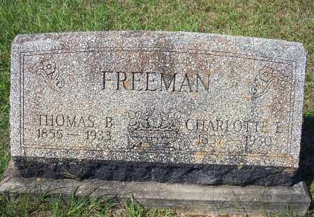 FREEMAN, CHARLOTTE E. - Clark County, Arkansas | CHARLOTTE E. FREEMAN - Arkansas Gravestone Photos