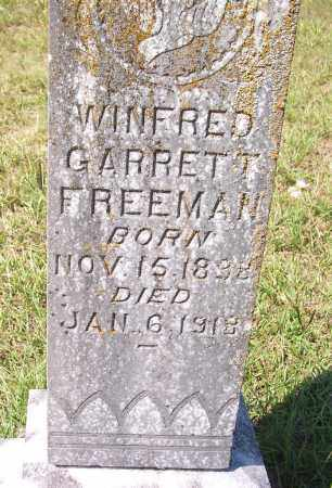 FREEMAN, WINFRED GARRETT - Clark County, Arkansas | WINFRED GARRETT FREEMAN - Arkansas Gravestone Photos