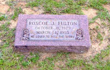FULTON, ROSCOE J. - Clark County, Arkansas | ROSCOE J. FULTON - Arkansas Gravestone Photos