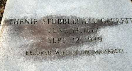STUBBLEFIELD GARRETT, THENIE - Clark County, Arkansas | THENIE STUBBLEFIELD GARRETT - Arkansas Gravestone Photos