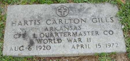 GILLS (VETERAN WWII), HARTIS CARLTON - Clark County, Arkansas | HARTIS CARLTON GILLS (VETERAN WWII) - Arkansas Gravestone Photos