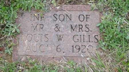 GILLS, INFANT SON - Clark County, Arkansas | INFANT SON GILLS - Arkansas Gravestone Photos