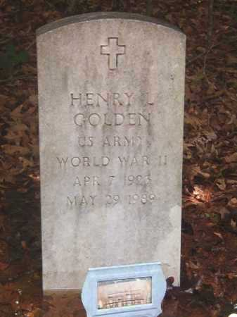 GOLDEN (VETERAN WWII), HENRY L - Clark County, Arkansas | HENRY L GOLDEN (VETERAN WWII) - Arkansas Gravestone Photos