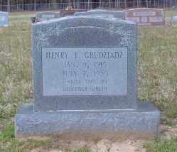 GURDZIADZ, HENRY F. - Clark County, Arkansas | HENRY F. GURDZIADZ - Arkansas Gravestone Photos