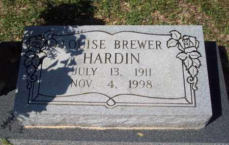 HARDIN, LOUISE - Clark County, Arkansas | LOUISE HARDIN - Arkansas Gravestone Photos