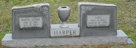 HARPER, SADIE - Clark County, Arkansas | SADIE HARPER - Arkansas Gravestone Photos