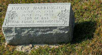 HARRINGTON, INFANT - Clark County, Arkansas | INFANT HARRINGTON - Arkansas Gravestone Photos